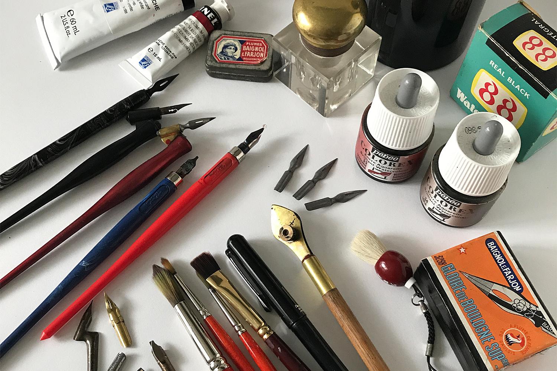 #matérielcalligraphie #nib #plume, #porteplume #penholder #calligraphy #calligraphie