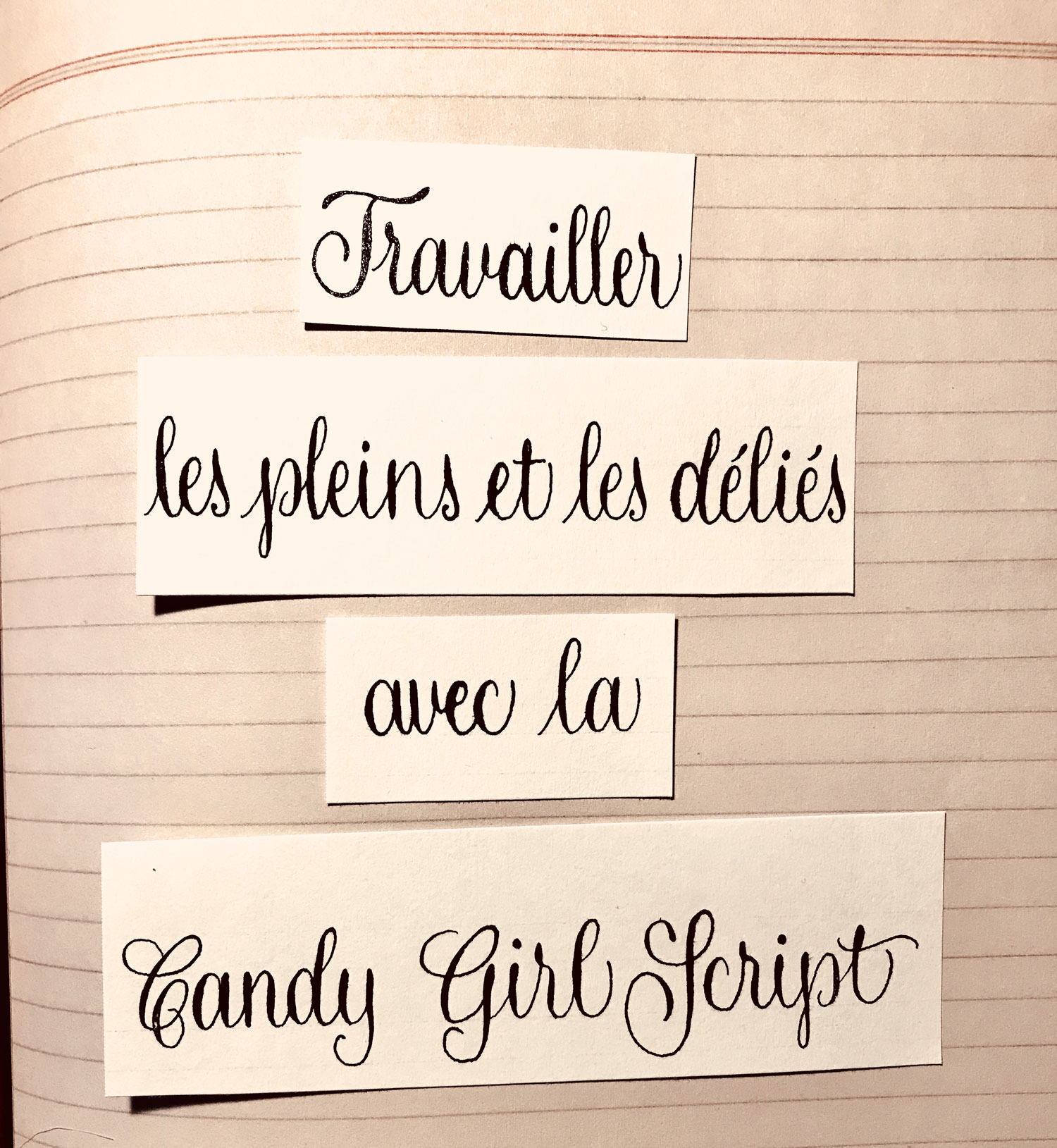 #calligraphy # calligraphie #CandyGirlScript