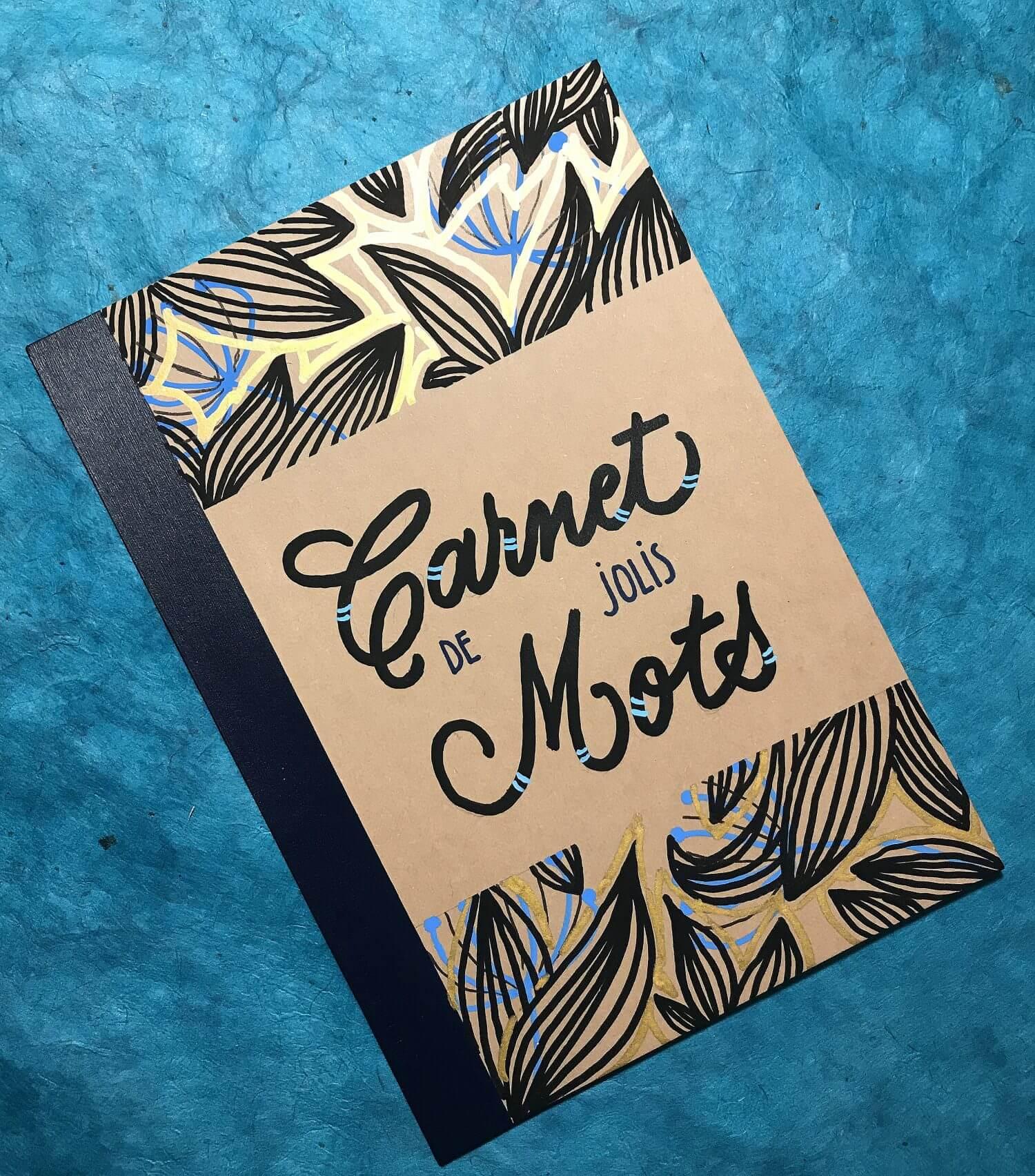#carnet #lettering #artnouveau #handlettering #notebook #DIY
